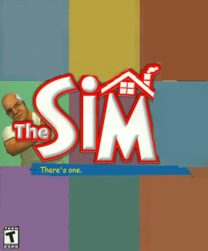 esrb: SiM  The  There's one.  TEEN  coNTNT ATE  ESRB