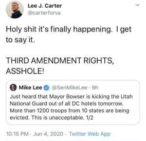 simonalkenmayer:  just-high-school-things:  thequantumqueer:   (x)    we're finally getting to use the 3rd amendment guys   That's how the revolution began the first time : simonalkenmayer:  just-high-school-things:  thequantumqueer:   (x)    we're finally getting to use the 3rd amendment guys   That's how the revolution began the first time