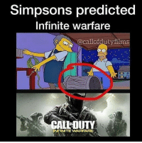 Simpsons are predicting everything nowadays, damn. 🔸Leave a like and follow @ninjahmad for more 👍 🔸Help me reach 100 subs on my YouTube channel, link is in my bio! 🔸👉YouTube:NinjAhmad 👈 🔸👉Personal:@notninjahmad 🔸Add me on steam! 👇 🔸Steam-ID: NinjAhmad 🔸Tell your buddies about this horrible page✊ 💊Tags💊(IGNORE): picoftheday fallout funny meme instagood photooftheday like4like gta cod pc xbox xbox360 xboxone xbox1 playstation ps3 ps4 assassinscreed fifa love skyrim callofduty bo2 bo3 blackops pc follow overwatch counterstrike csgo valve: Simpsons predicted  Infinite Warfare  @callofduty firms  ALLDUITY  INFINITE WARFARE Simpsons are predicting everything nowadays, damn. 🔸Leave a like and follow @ninjahmad for more 👍 🔸Help me reach 100 subs on my YouTube channel, link is in my bio! 🔸👉YouTube:NinjAhmad 👈 🔸👉Personal:@notninjahmad 🔸Add me on steam! 👇 🔸Steam-ID: NinjAhmad 🔸Tell your buddies about this horrible page✊ 💊Tags💊(IGNORE): picoftheday fallout funny meme instagood photooftheday like4like gta cod pc xbox xbox360 xboxone xbox1 playstation ps3 ps4 assassinscreed fifa love skyrim callofduty bo2 bo3 blackops pc follow overwatch counterstrike csgo valve