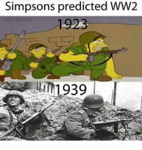 ww2: Simpsons predicted WW2  1923  1939