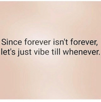Facts, Goals, and Lit: Since forever isn't forever  let's just vibe till whenever. Go Follow👉@mr_king_smiles_👈for lit posts! mr_king_smiles_ badgirl love followback realtalk facts goals lovequotes relationshipgoals photooftheday truestory sexuall inlove powercouples like look quotes relationships picoftheday webstagram quotesofthegram tagafriend followme truelove bestoftheday worth newyorkcity newyork truthbetold