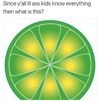 Ass, Funny, and Kids: Since y'all lil ass kids know everything  then what is this? Boi 💀 (swipe)