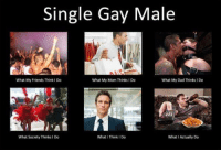 💯💯💯: Single Gay Male  What My Friends Think I Do  What My Mom Thinks I Do  What My Dad Thinks I Do  What Society Thinks 1 Do  What I Think I Do  What I Actually Do 💯💯💯