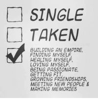 "Type ""YES"" if you can relate. ^_^ http://bit.ly/2cV3lLq: SINGLE  TAKEN  BUILDING AN EMPIRE,  FINDING MYSELF,  HEALING MYSELF,  LOVING MYSELF,  BEING PASSIONATE,  GETTING FIT,  GROWING FRIENDSHIPS,  MEETING NEW PEOPLE  MAKING MEMORIES Type ""YES"" if you can relate. ^_^ http://bit.ly/2cV3lLq"
