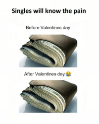 Day After Valentines Day: Singles will know the pain  Before Valentines day  After Valentines day
