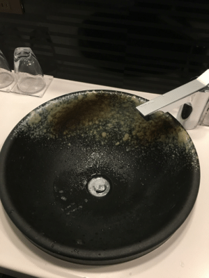 Hotel, Japanese, and Sink: Sink in a Japanese hotel