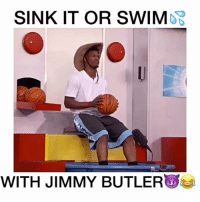 Jimmy Butler Vs Jimmy Kimmel😂💦🔥 🔊-@ctownbeats Follow (Me) @DunkFilmz for More!: SINK IT OR SWIMDB  WITH JIMMY BUTLER Jimmy Butler Vs Jimmy Kimmel😂💦🔥 🔊-@ctownbeats Follow (Me) @DunkFilmz for More!