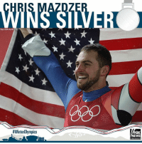 Memes, Silver, and Singles: Sipa USA via AP  #WinterOlympics  EWS Chris Mazdzer gave USA luge its first ever men's singles medal by finishing second and earning a silver medal. Olympics