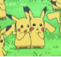 Ash, Cute, and Lol: sippyteaevs:  raventherogue:  yamujiburo:  cgoblinqueen:  yamujiburo: im here for these two pika boyfriends or someone just forgot to make a heart tail lol. STILL CUTE :V  this is the part in the episode where all the female pikachus are off greeting ash's. all the pikachus in the background are males including these two lil guys   Reblog if your happy for these  Gay Pikachus   If you've heard about the pika boyfriends, you should also hear about…  :・゚☆Pika Girlfriends :・゚☆