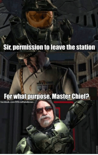 To Fuck Her Right in The Pussy. ~Prodigy: Sir, permission to leave the station  For what purpose, Master Chief?  facebook.com/OfficialHaloMemes To Fuck Her Right in The Pussy. ~Prodigy