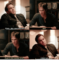 — damon or kai?😅: Sirens... Man, were they hot?  Sure  Paul. Wesley ig  lf you're into cannibal divas  I think Iam — damon or kai?😅