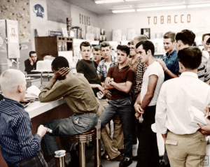 "sirrah1940:  profeminist:  profeminist:  chemicallywrit:  kaylapocalypse:  historicaltimes:   ""Crazy Dion"" Diamond at one of his sit-ins as a teenager in Arlington, VA. June 10, 1960 via reddit   All of those people around him are demons  hey guys! here's some fun things i learned from this article about Dion Diamond: he did these sit-ins by himself. like idk about you, but i always thought of sit-ins as organized by groups, what kind of bravery does it take, man he didn't tell anyone about it, like he was no glory-seeker about this. his parents didn't even know until reporters started calling them up like ""hey, did you know your son is in jail? when someone called the cops he'd skedaddle out the back door although he was sent to prison multiple times the last time he got arrested was in Baton Rouge, and the cops were so sick of him that they told inmates they'd put in a good word for anyone who gave Diamond a hard time. (the inmates didn't take the bait.) he's still alive! hark, a hero of our times!     That is unbelievable courage!  : sirrah1940:  profeminist:  profeminist:  chemicallywrit:  kaylapocalypse:  historicaltimes:   ""Crazy Dion"" Diamond at one of his sit-ins as a teenager in Arlington, VA. June 10, 1960 via reddit   All of those people around him are demons  hey guys! here's some fun things i learned from this article about Dion Diamond: he did these sit-ins by himself. like idk about you, but i always thought of sit-ins as organized by groups, what kind of bravery does it take, man he didn't tell anyone about it, like he was no glory-seeker about this. his parents didn't even know until reporters started calling them up like ""hey, did you know your son is in jail? when someone called the cops he'd skedaddle out the back door although he was sent to prison multiple times the last time he got arrested was in Baton Rouge, and the cops were so sick of him that they told inmates they'd put in a good word for anyone who gave Diamond a hard time. (the inmates didn't take the bait.) he's still alive! hark, a hero of our times!     That is unbelievable courage!"