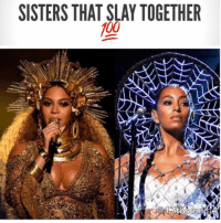 "Memes, Solange Knowles, and 🤖: SISTERS THAT SLAY TOGETHER  100 It seems like Solange Knowles and Adele are on the same page. When the ""Hello"" singer took the stage to accept the biggest award at the 2017 Grammys for Album of the Year, she admitted she didn't feel she could accept it because she thought it should go to Beyoncé. Solange decided to speak out with similar feelings, taking to Twitter (in tweets that have since been deleted) to express her opinions about the show. ""There have only been two black winners in the last 20 years for album of the year ,"" she wrote. ""There have been over 200 black artist who have performed.""She continued, ""Create your own committees, build your own institutions, give your friends awards, award yourself, and be the gold you wanna hold my g's. 17thsoulja BlackIG17th grammys2017 areyouyoursisterskeeper 🌖🌑🌔"