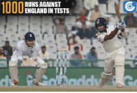 Cheteshwar Pujara became the 12th Indian to score 1000 Test runs against England.: Site  Paytm pay  ay-payim  au: n  ayIm  Dau im., payin, pay-paym  1000  RUNS AGAINST  ENGLAND IN TESTS  EE Cheteshwar Pujara became the 12th Indian to score 1000 Test runs against England.