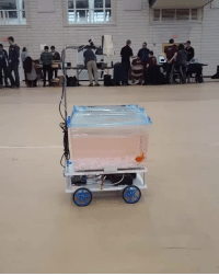 Target, Tumblr, and youtube.com: sixpenceee:  By using a camera and computer vision software it is possible to make a fish control a robot car over land. By swimming towards an interesting object, the fish can explore the world beyond the limits of his tank. ViaStudio diip