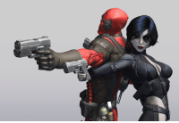 SJW alert: Deadpool 2 suffers from SJW insertions, recasting and sprinkle of SJW themes to satisfy SJW writers... PS this is a photo of Deadpool with Domino. #SupportJawbreakers: SJW alert: Deadpool 2 suffers from SJW insertions, recasting and sprinkle of SJW themes to satisfy SJW writers... PS this is a photo of Deadpool with Domino. #SupportJawbreakers