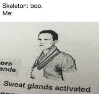 "<p>With October here- is this the type of meme I should be investing in? Obviously could have a lot of variety via /r/MemeEconomy <a href=""http://ift.tt/2fBqUMW"">http://ift.tt/2fBqUMW</a></p>: Skeleton: boo  Sweat glands activated <p>With October here- is this the type of meme I should be investing in? Obviously could have a lot of variety via /r/MemeEconomy <a href=""http://ift.tt/2fBqUMW"">http://ift.tt/2fBqUMW</a></p>"