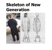 Memes, 🤖, and New: Skeleton of New  Generation