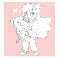 Sketch requests from my livestream! Mable from Gravity falls and Ai Aston from Sunday without God! Thanks for joining! It was fun! I got a lot of work done on my commissions and felt really productive!: Sketch requests from my livestream! Mable from Gravity falls and Ai Aston from Sunday without God! Thanks for joining! It was fun! I got a lot of work done on my commissions and felt really productive!