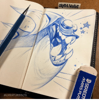 Still really digging our @sketchwallet - Awesome for drawing on the go. Kickstarter ends Thursday morning 7am PST if you're looking to grab one! http:-kck.st-2rzjYnG sketchbook portable monster sketchwallet: sketch Wallet  CREATURE BOX Still really digging our @sketchwallet - Awesome for drawing on the go. Kickstarter ends Thursday morning 7am PST if you're looking to grab one! http:-kck.st-2rzjYnG sketchbook portable monster sketchwallet