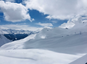 Austrian, Alps, and  Skiing: Skiing in the Austrian Alps