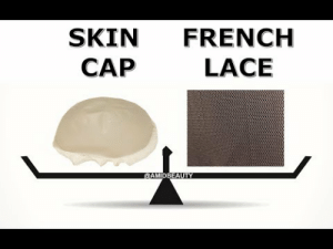 wig-supplies-and-more: New info sharing video from Amid Beauty! Discover the Main Differences Between Hair Systems Created with Thin Skin Wig Foundation and French Lace French Lace wig base is vastly used simply because it is very economical.  It is typically flesh colored and thin.  The lace foundation is comprised mostly of very small holes which make it breathable.  Hair is ventilated directly into the wig foundation implementing single, split and double knots.  Thin skin closely resembles your scalp.  When ventilated by a knowledgeable wigmaker, the hair will appear as though it is growing directly from the head.  Thin skin foundation can be found in a clear, transparent finish, however you may request special coloring if that is your preference.   : SKIN FRENCH  CAP  LACE wig-supplies-and-more: New info sharing video from Amid Beauty! Discover the Main Differences Between Hair Systems Created with Thin Skin Wig Foundation and French Lace French Lace wig base is vastly used simply because it is very economical.  It is typically flesh colored and thin.  The lace foundation is comprised mostly of very small holes which make it breathable.  Hair is ventilated directly into the wig foundation implementing single, split and double knots.  Thin skin closely resembles your scalp.  When ventilated by a knowledgeable wigmaker, the hair will appear as though it is growing directly from the head.  Thin skin foundation can be found in a clear, transparent finish, however you may request special coloring if that is your preference.