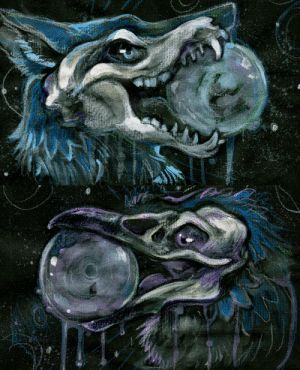 skulldog: Mercurial, watercolor and acrylic. Some extra minis done to clean up some extra paint. Accented with metallic paints.   : skulldog: Mercurial, watercolor and acrylic. Some extra minis done to clean up some extra paint. Accented with metallic paints.