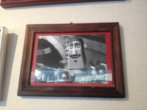 Life, Target, and Tumblr: skullvis:  There was a TexMex restaurant in Japan that we went to and for some reason there was a black and white framed picture of Joaquin from The Book of Life on the wall.