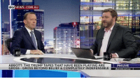 news.com.au: sky NEWS .COM AU  ABBOTT: THE TRUMP TAPES THAT HAVE BEEN PLAYING ARE  PM LIVE  GROSS GROSS BEYOND BELIEF & COMPLETELY INDEFENSIBLE news.com.au