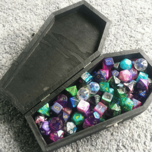 Tumblr, Yeah, and Blog: slaaneshite:  kinggeorgetheonly:   slaaneshite:  Got a new dice case ;o  One die says 'nipples'   Well yeah how do YOU play DD