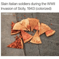 what i don'g understand is how my dad, a huge environmentalist, would vote for a man who doesn't believe in climate change. like what. —sara: Slain Italian soldiers during the WWII  Invasion of Sicily, 1943 (colorized)  Chill Blinton what i don'g understand is how my dad, a huge environmentalist, would vote for a man who doesn't believe in climate change. like what. —sara