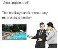 Bad, Reddit, and Labor Day: Slaps public pool  This bad boy can fit some many  middle class families