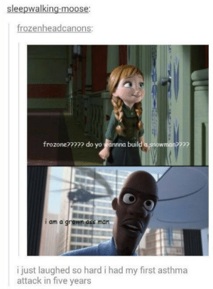 He just needs his supersuit: sleepwalking-moose  rozenheadcanons  frozone???? do yo Wannna buil  wman??  t am a  i just laughed so hard i had my first asthma  attack in five years He just needs his supersuit