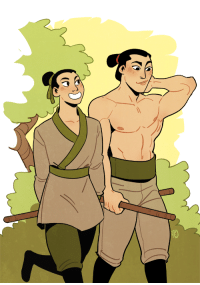 Ass, Gif, and Mulan: sleepycndian: elensartdump: Tumblr introduced me to the idea of bisexual Shang and I fell hard 3 shang's bi, his confusion was that mulan actually identifies as a woman, and 10/10 he'd have used whichever pronouns she wanted and kept her secret if he'd had the choice. they're a queer power couple because you can bet your ass mulan's not straight either