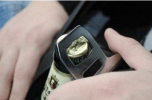 SLPT: Not Drunk Driving Hard Enough? Open Another Beer With Your Seat Belt!: SLPT: Not Drunk Driving Hard Enough? Open Another Beer With Your Seat Belt!