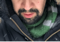 Memes, Slytherin, and Snow: Slytherin scarf in the snow https://t.co/HgrLX2Hri4