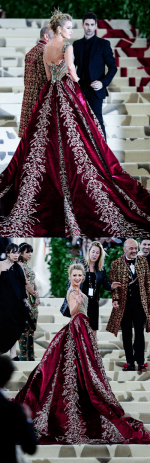 Target, Tumblr, and Blake Lively: slytherinnpride:  Blake Lively, MET Gala, 2018