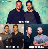 @stephenamell with Smallville cast. @tomwelling (Clark Kent-Superman) 👽 @justinhartley (Oliver Queen-GreenArrow) 🏹 @themichaelrosenbaum (Lex Luthor)👿 . stephenamell oliverqueen greenarrow teamarrow superheroeshow tomwelling superman clarkkent smallville justinhartley michaelrosenbaum lexluthor dccomics thecw: SMALLVILLE CAST  arrowmemes  WITH TOM  POINT  WITH JUSTIN  WITH MICHAEL @stephenamell with Smallville cast. @tomwelling (Clark Kent-Superman) 👽 @justinhartley (Oliver Queen-GreenArrow) 🏹 @themichaelrosenbaum (Lex Luthor)👿 . stephenamell oliverqueen greenarrow teamarrow superheroeshow tomwelling superman clarkkent smallville justinhartley michaelrosenbaum lexluthor dccomics thecw