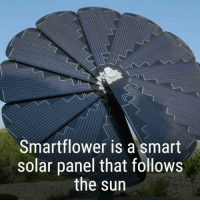 "Anaconda, Energy, and Memes: Smartflower is a smart  solar panel that follows  the sun ""Albania, Iceland, and Paraguay obtain essentially all of their electricity from renewable sources (Albania and Paraguay 100% from hydroelectricity, Iceland 72% hydro and 28% geothermal). Norway obtains nearly all of its electricity from renewable sources (97 percent from hydropower). Costa Rica also uses mostly renewable energy (90% hydroelectric, 10% other)"