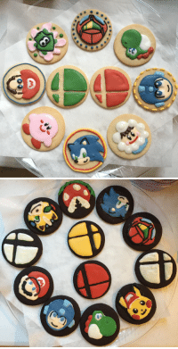 Smash Bros Cookies: Smash Bros Cookies