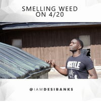 Memes, Smell, and Weed: SMELLING WEED  ON 4/20  NILE  @IA M DESI BANK S ‪😂 When you smell Weed on 4-20.😂🌿‬ Ft @1kyonsr @darrensirell & @the_morganbrother . JustComedy DesiBanksComedy TagYourFriends happy420