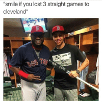 """Lol 😂 messed up smh DoubleTap if funny but true Tag friends for a laugh Curry BigPapi (It's a joke people's relax lol): """"smile if you lost 3 straight games to  Cleveland"""" Lol 😂 messed up smh DoubleTap if funny but true Tag friends for a laugh Curry BigPapi (It's a joke people's relax lol)"""