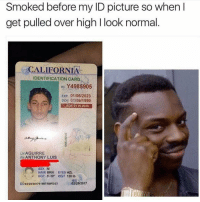 "Smart 🤔😂 🍁Follow ➡ @weedsavage 🍁 weedsavage: Smoked before my ID picture so when  get pulled over high l look normal  CALIFORNIA  IDENTIFICATION CARD  Y4985905  ID Exp 01/06/2023  DOB 01106 1999  A AGE 21 IN 2020  LN AGUIRRE  EN ANTHONY LUIS  SEX M  HAIR BRN EYES HZL.  HGT 5-10"" WGT 120 lb  ISS  02/28/2017  DD02/28/2017619B7/BBFD 23 Smart 🤔😂 🍁Follow ➡ @weedsavage 🍁 weedsavage"