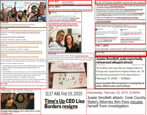 """Chicago, Empire, and Lgbt: Smollett campaigns with Kamala Harris at a LGBT/ """"Times up event in Los Angeles on Jan 15, 2018  Jan 18, 2019: Jussie Smolletts  an 29, 2019 lussie Smollett's reports he was attacked  TIME'S  UP  Letter mailed b  Jan 21, 2019  Kamala Harris announces 2020 white house bid  to Cinespace Studios  Kamala Harris  . The 35-year-old actor, who came out as gay to Ellen in 2015, was attacked at 2am  Jurnee Smollett  on Tuesday in Chicago by two men in ski masks  . Bleach was poured on Jussie Smollett while a noose was tied around his neck  during the attack, and still there when police arrived on the scene  The Chicago Police Department said that Smollett told them the men screamed  out 'this is MAGA country' during the attack after contacting them at 2:42am  I'm so excited that @KamalaHarris has  decided to run for president. I would not be  where I am today without he  during my first run for political office, and she  Police are investigating case as a racially-charged battery and assault  Celebrities have rallied behind the star to lend their support and call out rampant  racism and homophobia  da  ntinued to mentor me a  and Cory Booker quickly respond using identical langua  Kamala Harris (D), Cory Booker (D)introduce anti-lynching  bill S.3178, The Justice for Victims of Lynching Act  Dec 19, 2018  reform the criminal iustice system in Cook  County,一KF 255 PM , 21 Jan 2019  calling Smollett's attack """"an attempted  modern day lynchin  Kamala Harris  Cory Booker  @JussieSmollett is one of the kindest, most  gentle human beings I know. I'm praying for  is quick recovery  anged to include LGBT """"sexual orientation"""" and """"gender identity""""  The vicious attack on actor Jussie Smollett  was an  attempted modern-day lynching. I'm  Kamala Harris  protections.  The Justice for Victims of Lynching Act  ** S.3178-Original text 6/28/18-7 pages  attempted modern da  To those in Congress who don't feel the  No one should have to fear for their life  s our Ant"""