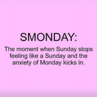 😫😫😫 rp @black_humorist smonday goodgirlwithbadthoughts 💅🏻: SMON DAY.  The moment when Sunday stops  feeling like a Sunday and the  anxiety of Monday kicks in 😫😫😫 rp @black_humorist smonday goodgirlwithbadthoughts 💅🏻