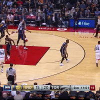 Terrence Ross, taking flight! ✈️: SN  IND 15 i 20  TOR  ell Fibe  15  2ND 11:51 Terrence Ross, taking flight! ✈️