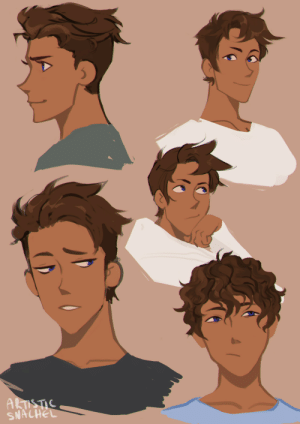 Target, Tumblr, and Blog: SNACHEL artistic-snachel:  hair doodles for julance??  Psst Commissions are open by the way