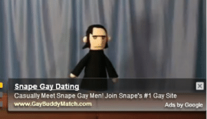 Dating, Google, and Com: Snape Gay Dating  Casually Meet Snape Gay Men! Join Snape's #1 Gay Site  www.GayBuddyMatch.com  Ads by Google