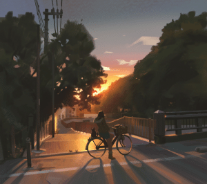 snatti:   Just really wanted to paint a sunset and relax a bit after work  : snatti:   Just really wanted to paint a sunset and relax a bit after work