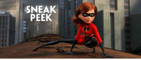 THE FIRST TRAILER FOR THE INCREDIBLES 2 https://t.co/kM0mojc1xM: SNEAK  PEEK  OVERALLS THE FIRST TRAILER FOR THE INCREDIBLES 2 https://t.co/kM0mojc1xM